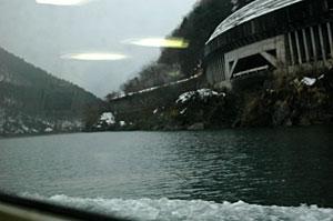 庄川の船旅