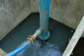 水圧自動揚水機 ラムポンプ