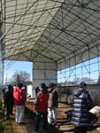 堆肥実験施設